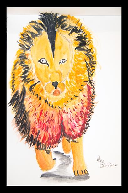 dessin-du-lion